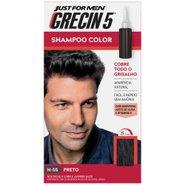 Grecin 5 Shampoo Color Preto 60 Ml