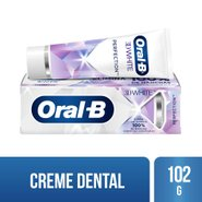 Creme Dental Clareador Oral-b 3d White Perfection 102g
