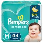 Fralda Pampers Confortsec Mega M C/44