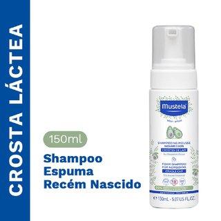 Shampoo Espuma Recem Nascido Mustela 150ml