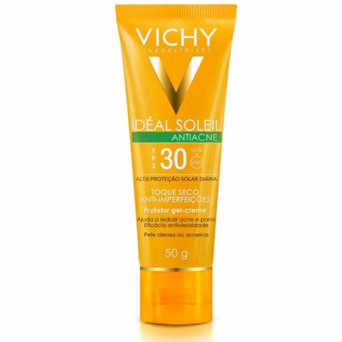 Protetor Solar Vichy Ideal Soleil Antiacne Fps30 50g - PanVel Farmácias c4a9d26b57