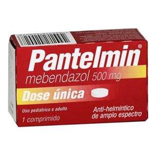 Pantelmin 500mg 1 Comprimido