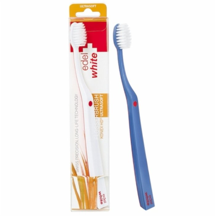 Escova Dental Edel+White Flosserbrush Ultrasoft - PanVel Farmácias 485057ecd67af