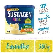 Complemento Alimentar Sustagen Kids Sabor Baunilha Lata Com 380g