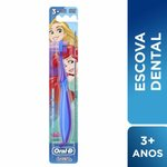 Escova Dental Infantil Oral-B Stages 3 Macia 5 A 7 Anos