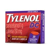 Analgésico Tylenol Dc 20 Comprimidos Revestidos