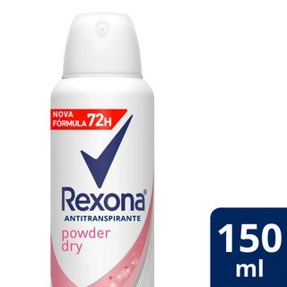 Desodorante Aerosol Rexona Powder Dry 150ml
