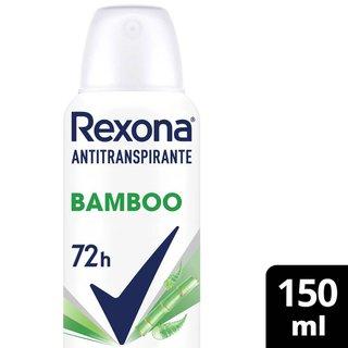 Desodorante Aerosol Rexona Bamboo & Aloe Vera 150ml