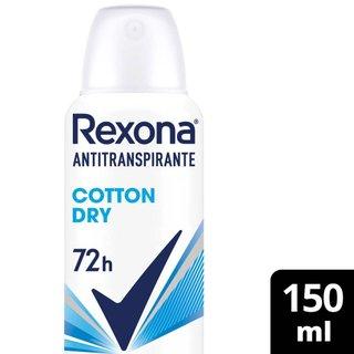 Desodorante Rexona Aerosol Cotton 150ml