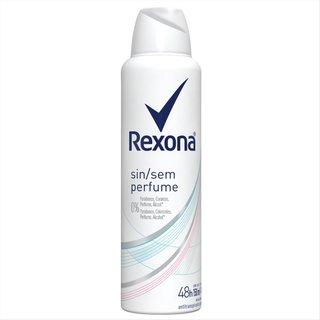 Desodorante Rexona Aerosol Sem Perfume 150ml