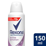Desodorante Rexona Aerosol Active Emotion 150ml