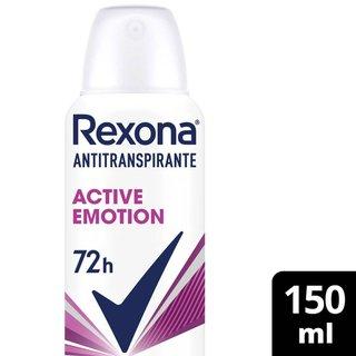 Desodorante Rexona Aerosol Active Emotion 150ml