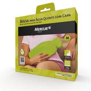 Bolsa Mercur Água Quente Bordô C/ Capa