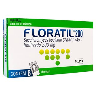 Floratil 200mg 6 Cápsulas Blister