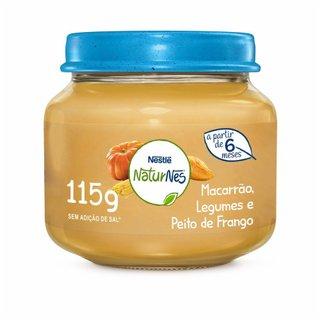Papinha Nestle Peito De Frango, Legumes E Macarrão 115g