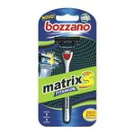 Aparelho De Barbear Bozzano Matrix3 Titanium