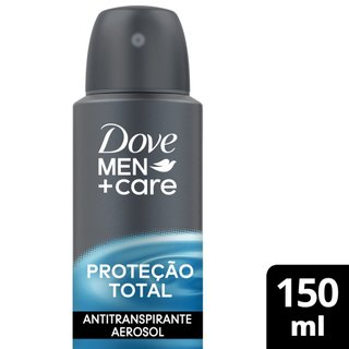 Desodorante Antitranspirante Aerosol Dove Cuidado Total 150ml