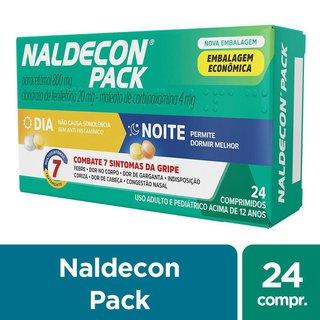 Naldecon Pack Dia Noite 24cp