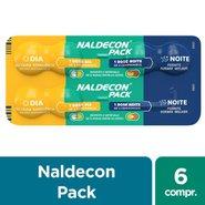 Naldecon Dia E Noite 6 Comprimidos
