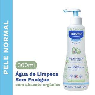 Agua De Limpeza Sem Enxague Mustela 300ml