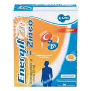 Energil Zinco 1g+10mg 30 Comprimidos Efervescentes