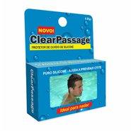 Protetor De Ouvido De Silicone Clearpassage Adulto C/1 Par