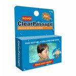 Protetor De Ouvido De Silicone Clearpassage Kids C/1 Par