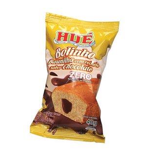 Bolinho Hué Baunilha Recheado C/chocolate 40g Avulso