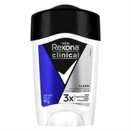 Desodorante Stick Rexona Men Clinical Clean 48g