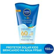 Protetor Solar Nivea Sun Kids Brincando Na Agua Fps60 150ml
