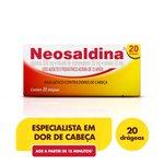 Neosaldina C/ 20 Drágeas