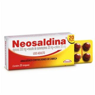 Neosaldina 20 Drágeas