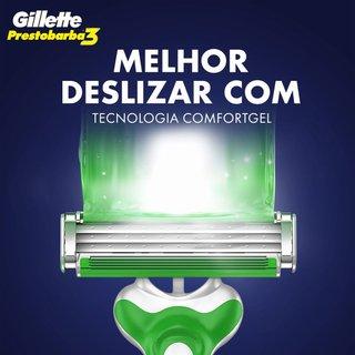 Aparelho De Barbear Gillette Prestobarba3 Sensitive C/2 Unidades