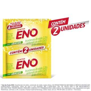 Sal De Fruta Eno Abacaxi 2 Envelopes 5g Cada