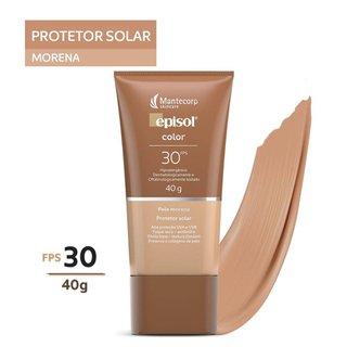 Protetor Solar Episol Color Pele Morena Fps 30 40g