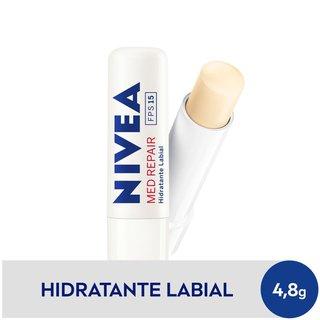 Protetor Labial Nivea Med Repair Fps 15 4,8g