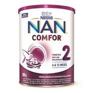 Nestlé Nan Comfor 2 Fórmula Infantil Lata 800g