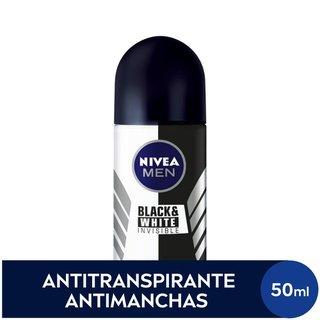 Desodorante Nivea Roll On Black & White Men 50ml
