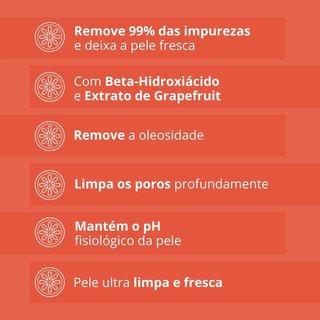 Sabonete Liquido Facial Neutrogena Deep Clean Grapefruit 150g