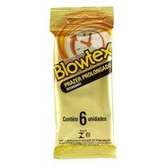 Preservativo Blowtex Retard  C/6