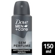 Desodorante Aerosol Dove Men Sem Perfume 150ml
