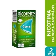 Goma Mastigável Nicorette® Icemint 2mg 30 Unidades