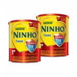 Kit Nestlé - Compre 1 Nestlé Composto Lácteo Ninho Fases 1+ 800g + 1 Nestlé Composto Lácteo Ninho Fases 1+ 800g