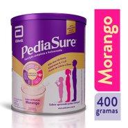 Suplemento Infantil Pediasure Pó Sabor Morango 400g