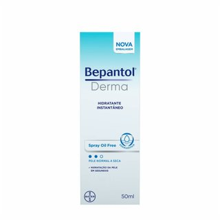 Hidratante Bepantol Derma Oil Free Spray Pele E Cabelos 50ml