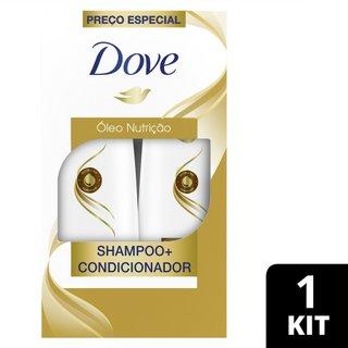 Kit Dove Óleo Nutrição Shampoo 400ml + Condicionador 200ml