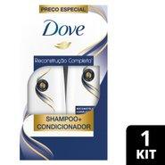 Kit Dove Reconstrucao Completa Shampoo 400ml + Condicionador 200ml