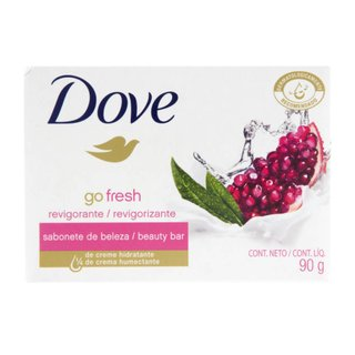 Sabonete Em Barra Dove Go Fresh Romã E Verbena 90g