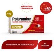 Antialérgico Polaramine 6mg 12 Drágeas
