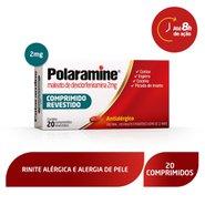 Antialérgico Polaramine 2mg 20 Comprimidos
